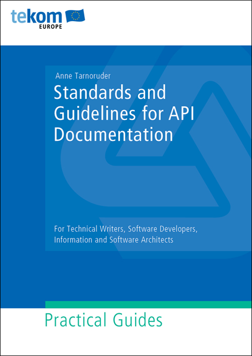 Ausgabe Standards and Guidelines for API Documentation