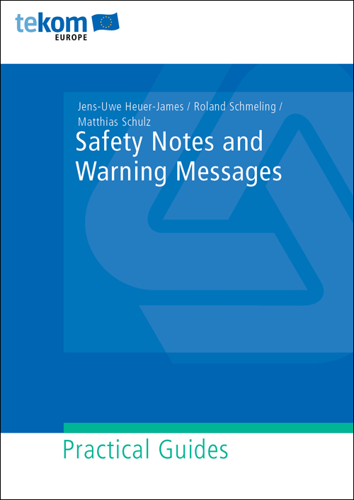 Ausgabe Safety Notes and Warning Messages